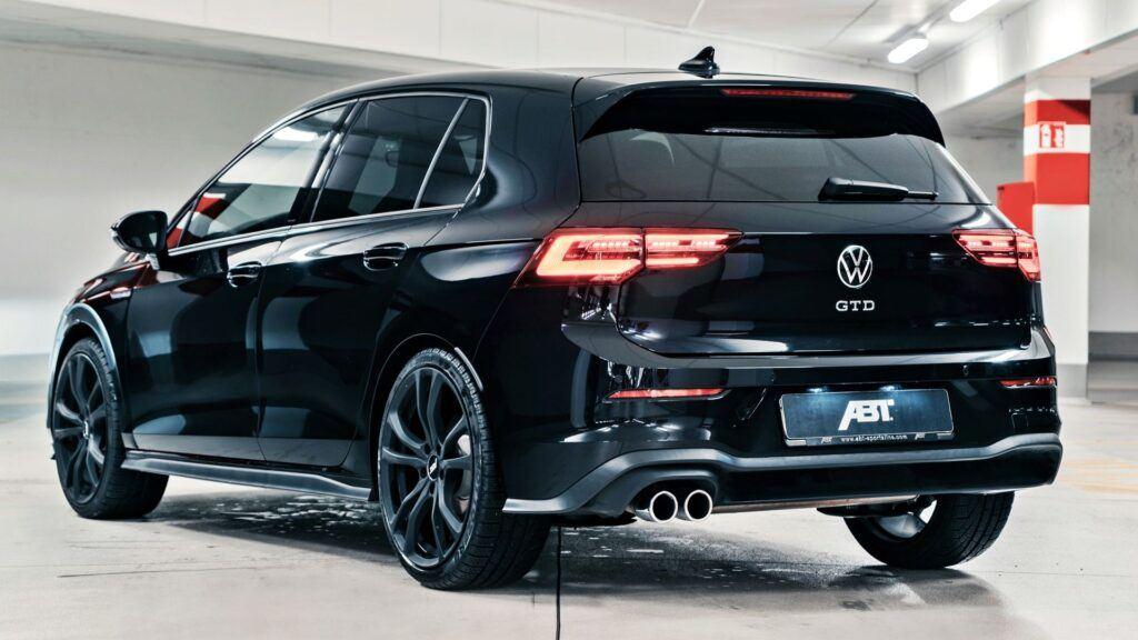 VW Golf VIII GTD ABT