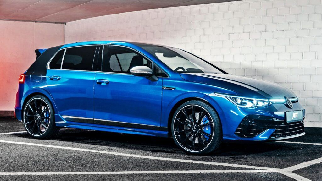 VW Golf VIII R ABT