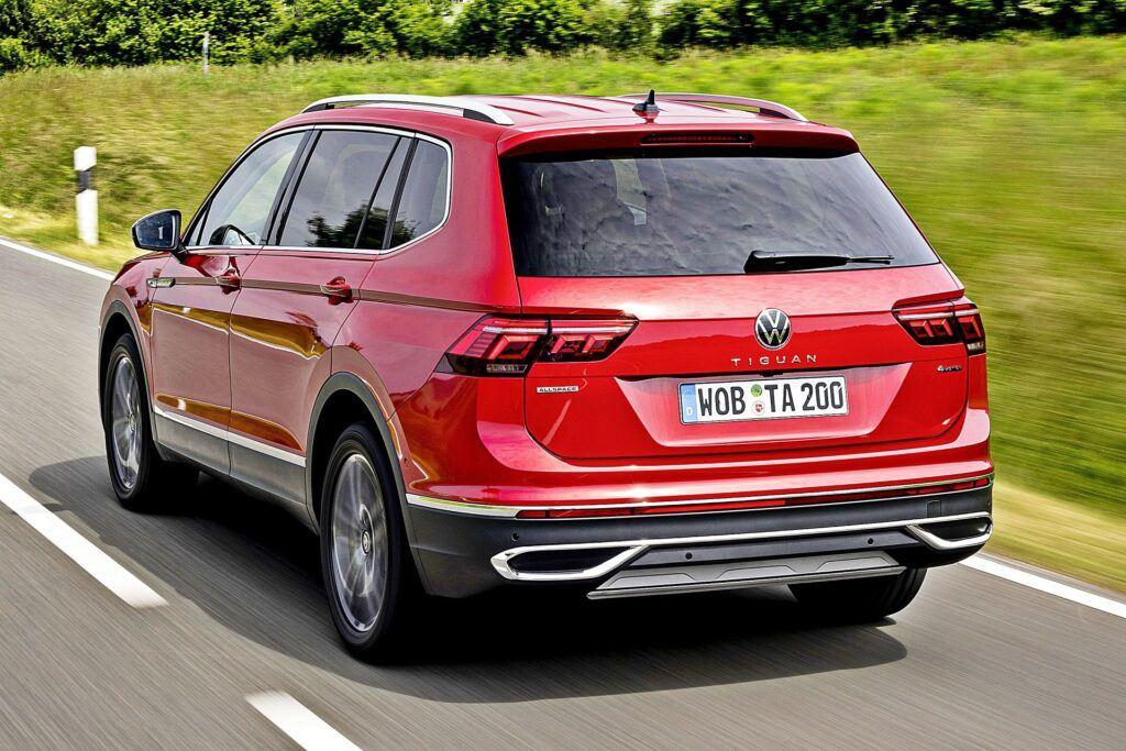 VW Tiguan Allspace - tył