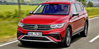 VW Tiguan Allspace - przód