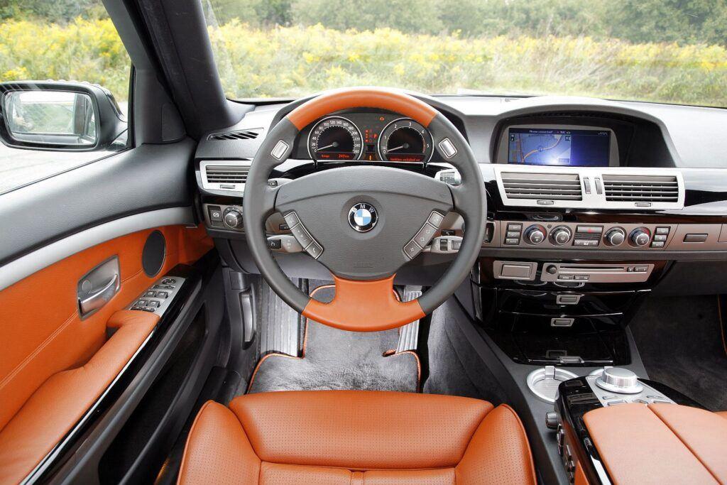 BMW serii 7 E65 deska rozdzielcza