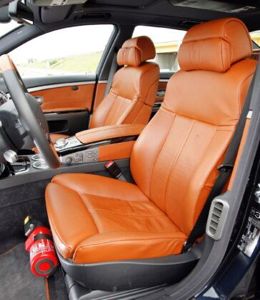 BMW serii 7 E65 fotel kierowcy
