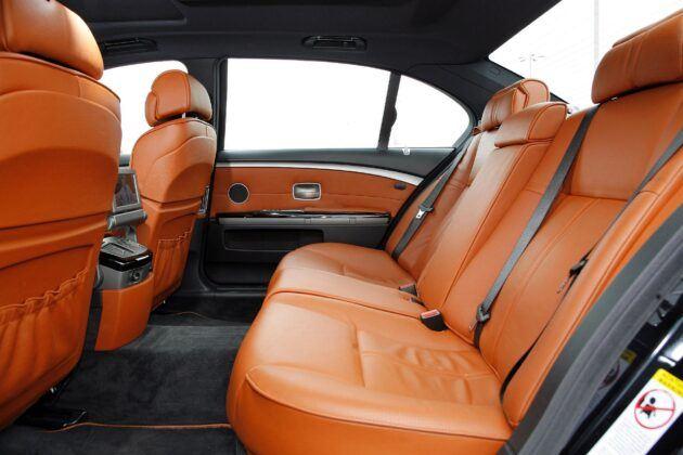 BMW serii 7 E65 kanapa