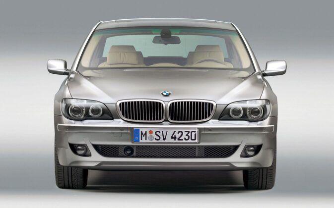 BMW serii 7 E65 po liftingu