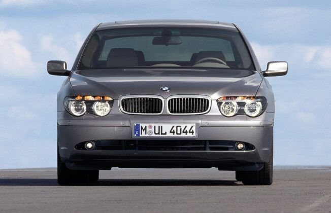 BMW serii 7 E65 przed liftingiem
