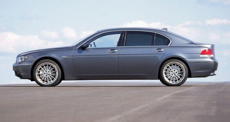BMW serii 7 E65 wersja przedłużona