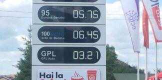 Cena LPG