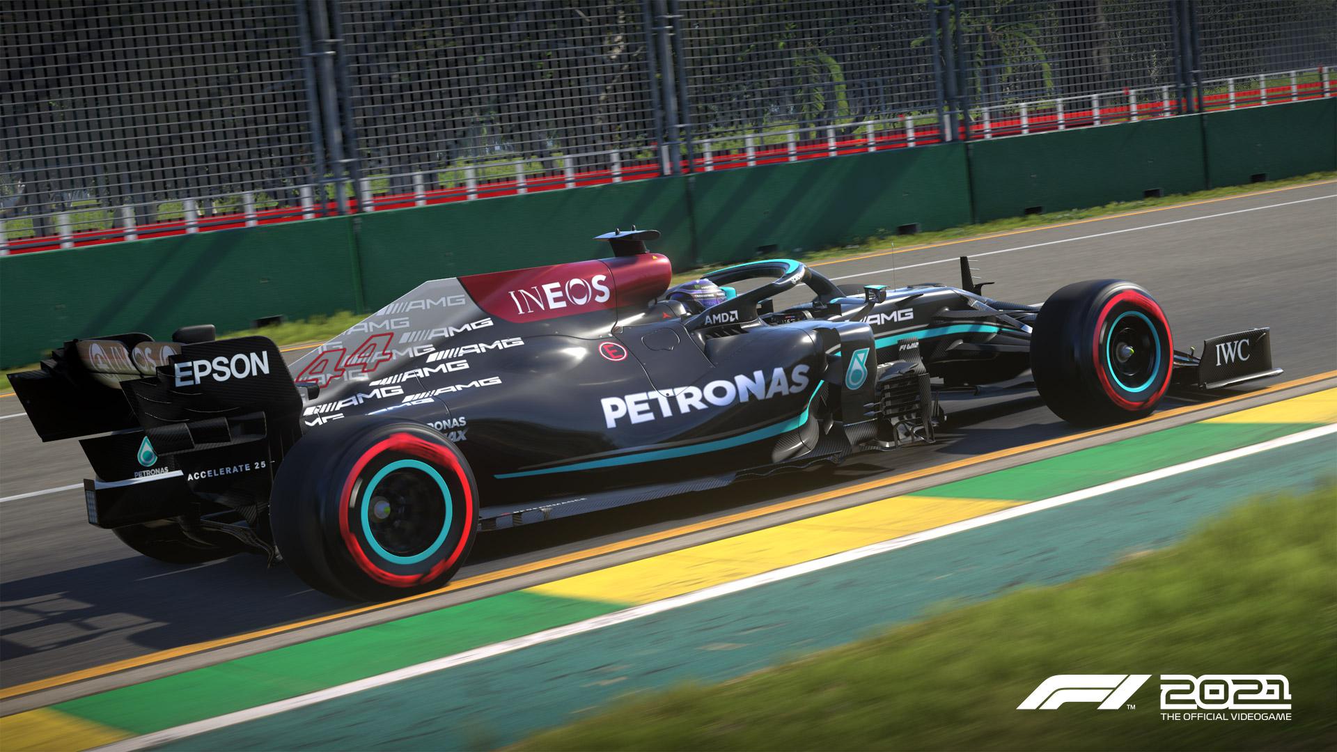 F1 2021 Mercedes