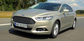 FORD Mondeo V Sedan Titanium Hybrid 2.0 187KM AT eCVT WE822KP 07-2015