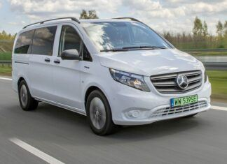 Mercedes eVito Tourer 129 - test elektrycznego vana