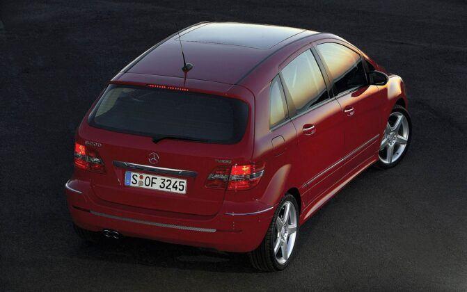 Mercedes klasy B W245 B 200 Turbo