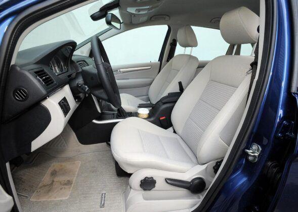 Mercedes klasy B W245 fotel kierowcy