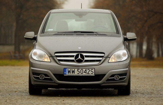 Mercedes klasy B W245 po liftingu
