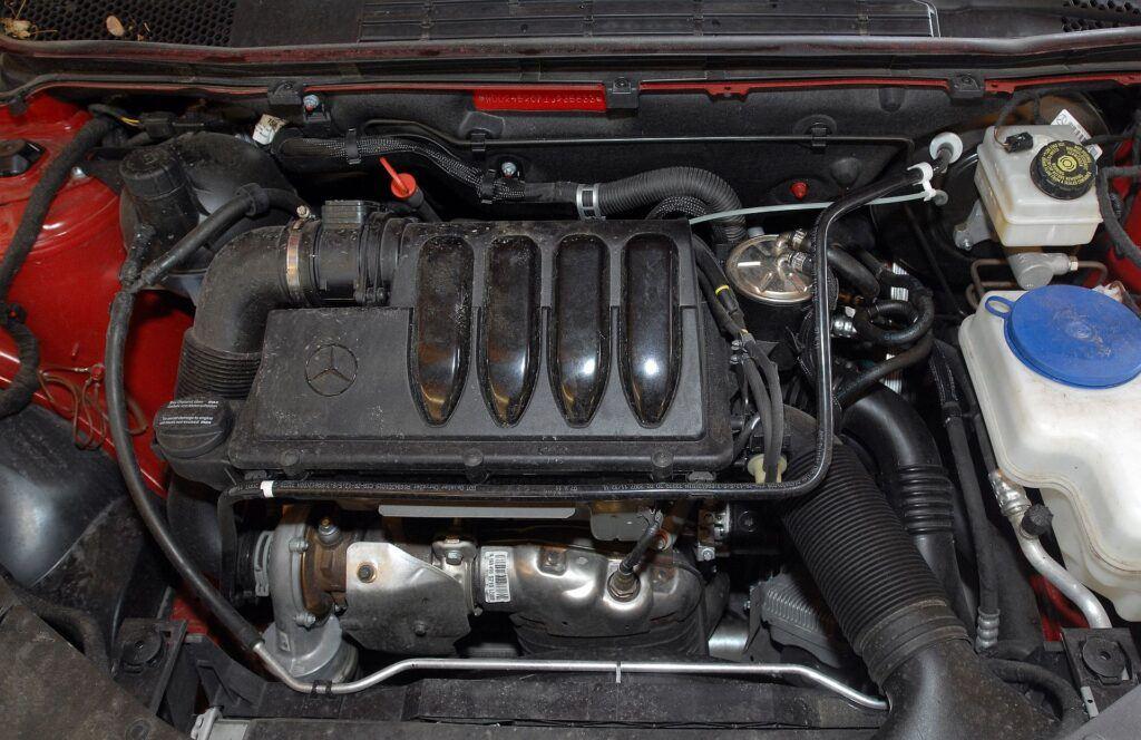 Mercedes klasy B W245 silnik