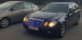 Nieoznakowany Mercedes S211