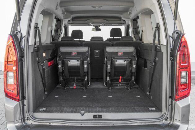 Toyota Proace Verso dluga - bagaznik
