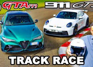 Alfa Romeo Giulia GTAm kontra Porsche 911 GT3 – porównanie