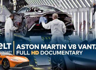 Tak powstaje Aston Martin V8 Vantage. Kulisy produkcji