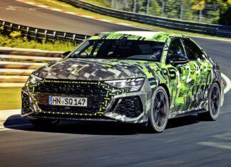 Nowe Audi RS 3 z rekordem okrążenia na Nurburgringu