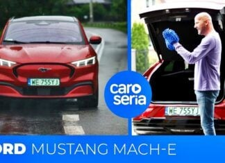 Ford Mustang Mach-E – test CaroSeria