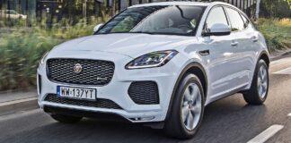 Jaguar E-Pace - przód
