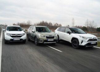 Najoszczędniejsze kompaktowe SUV-y: diesel, benzyna czy hybryda?