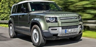Land Rover Defender - przód