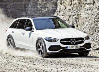 Mercedes klasy C All-Terrain – oficjalne zdjęcia i informacje