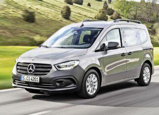 Nowy Mercedes Citan – oficjalne zdjęcia i informacje