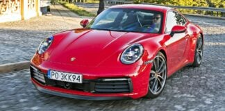 Porsche 911 (992) - przód