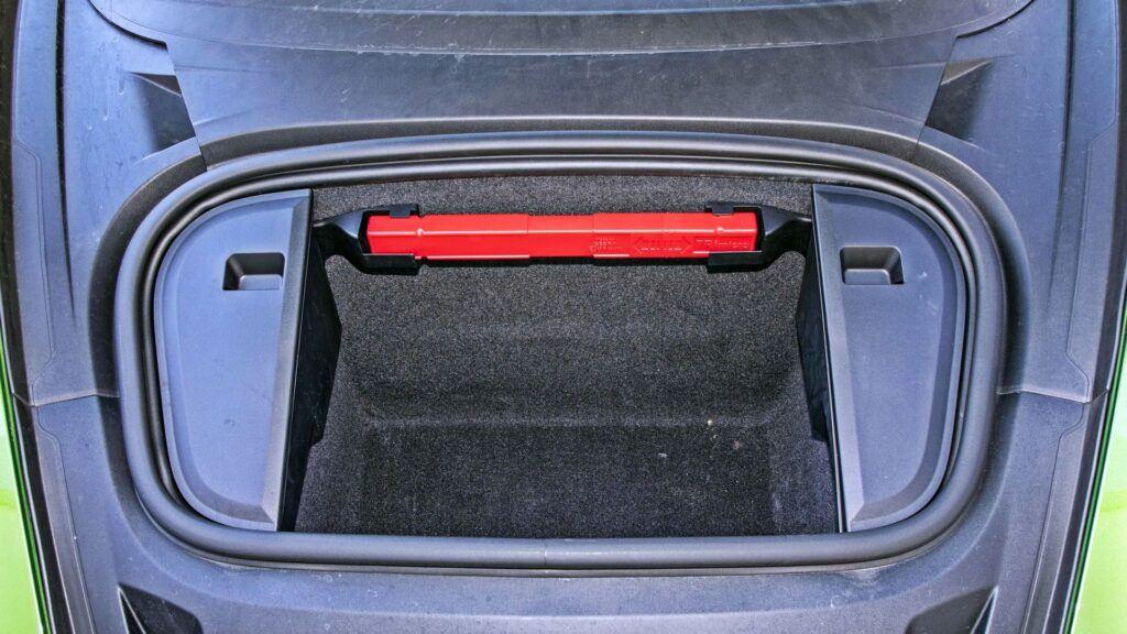 Porsche Taycan - bagażnik przedni