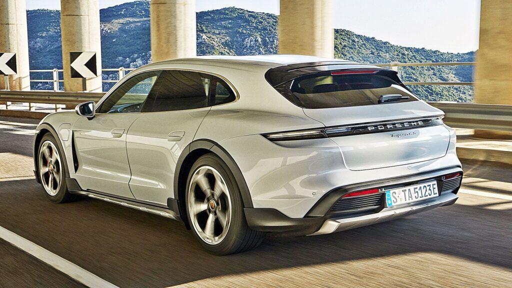 Porsche Taycan Cross Turismo - tył