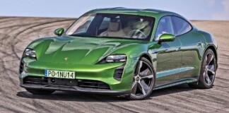 Porsche Taycan - przód