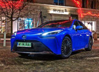 Toyota Mirai – 50 ciekawostek na temat samochodu na wodór