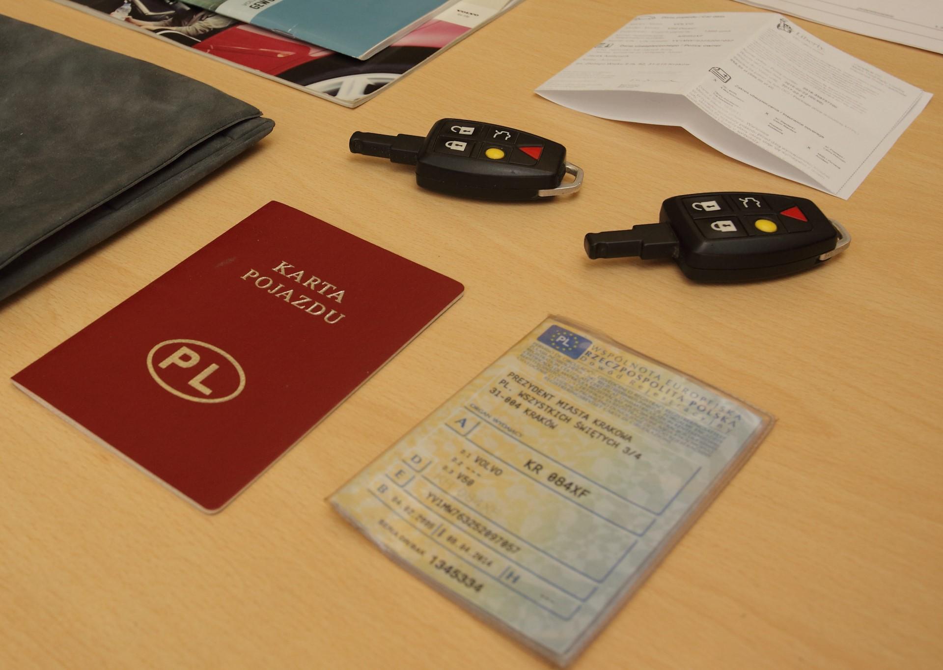 Dokumenty pojazdu