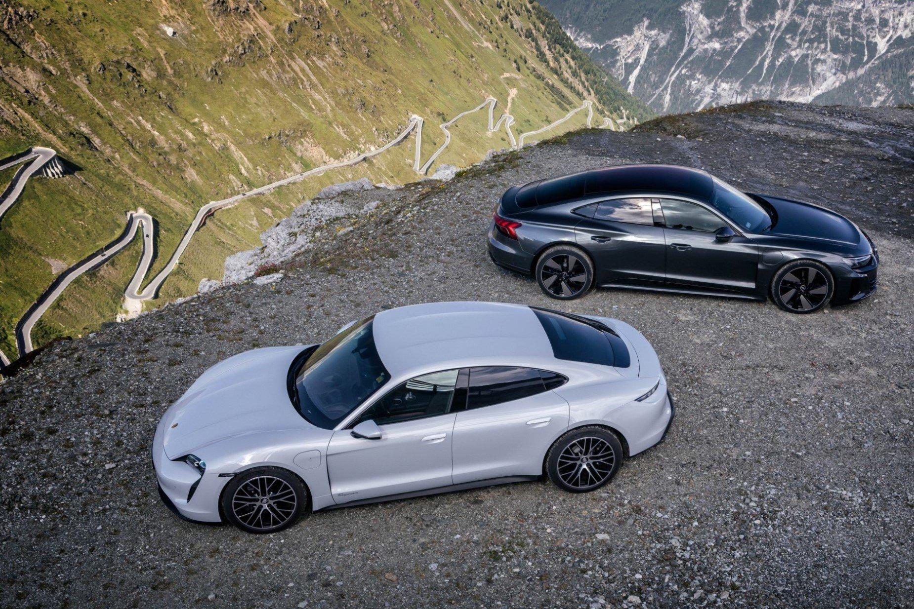Elektryczne Porsche i Audi