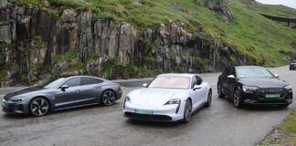 Elektryczne auta koncernu VAG