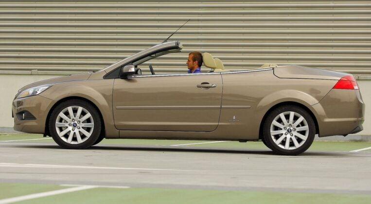 Ford Focus II - coupe-cabrio (CC), dach złożony