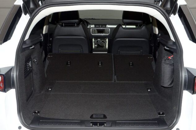 Land Rover Range Rover Evoque I bagażnik (2)