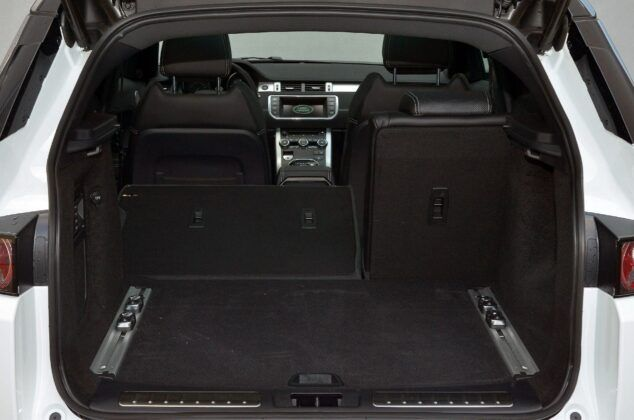 Land Rover Range Rover Evoque I bagażnik