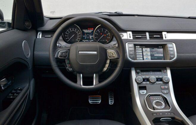 Land Rover Range Rover Evoque I deska rozdzielcza (3)