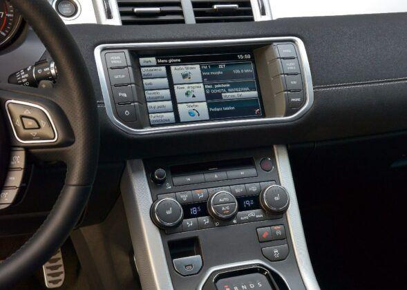 Land Rover Range Rover Evoque I ekran (2)
