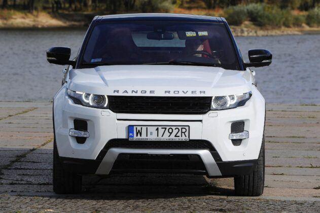 Land Rover Range Rover Evoque I przed liftingiem