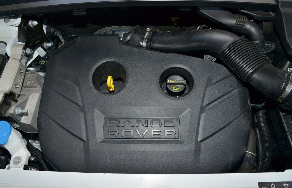Land Rover Range Rover Evoque I silnik (2)