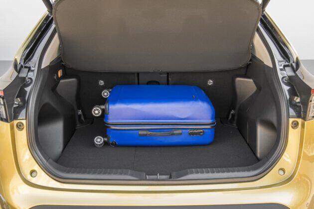 Toyota Yaris Cross - pojemnosc bagaznika