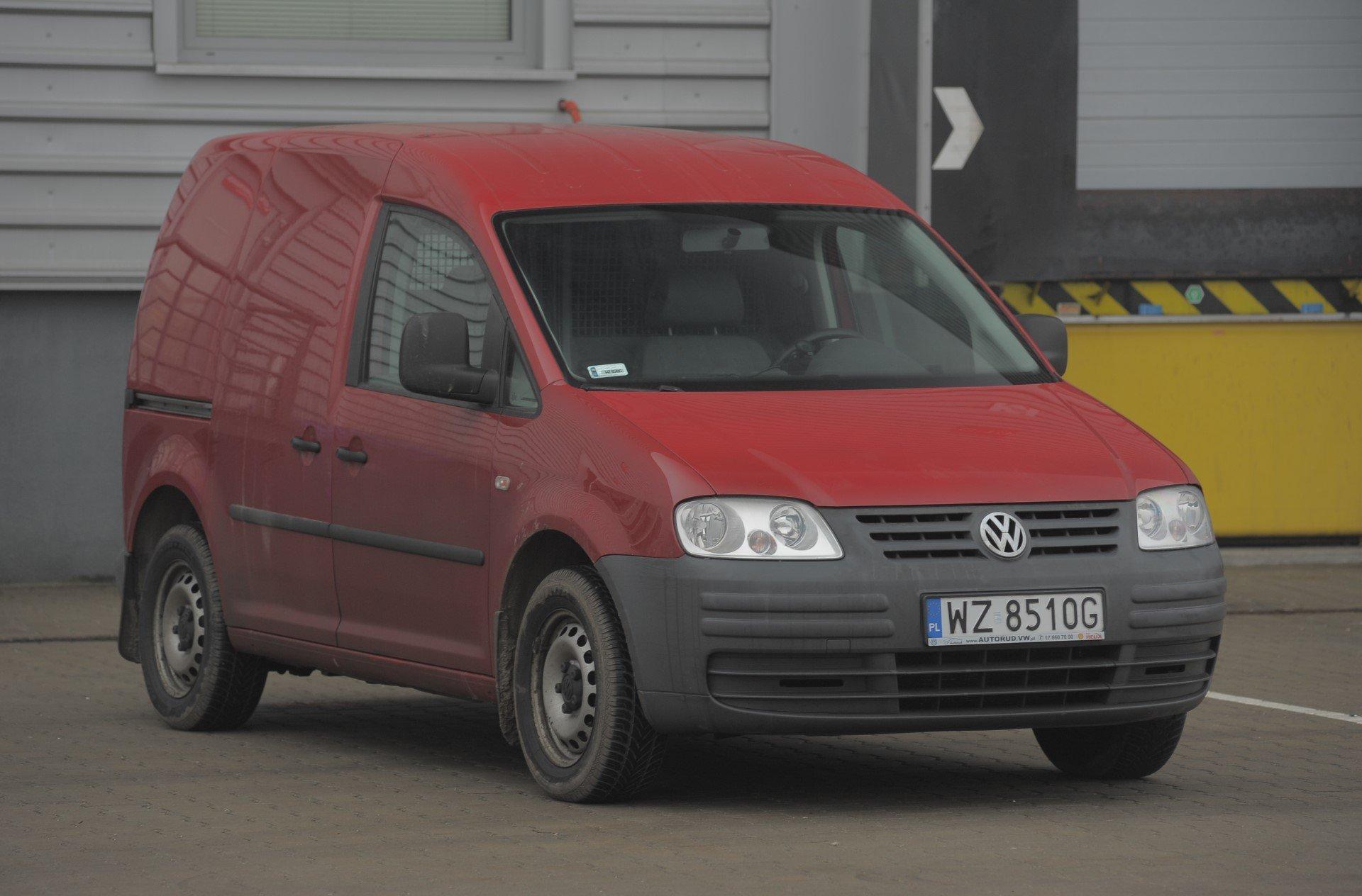 Uzywany Volkswagen Caddy III