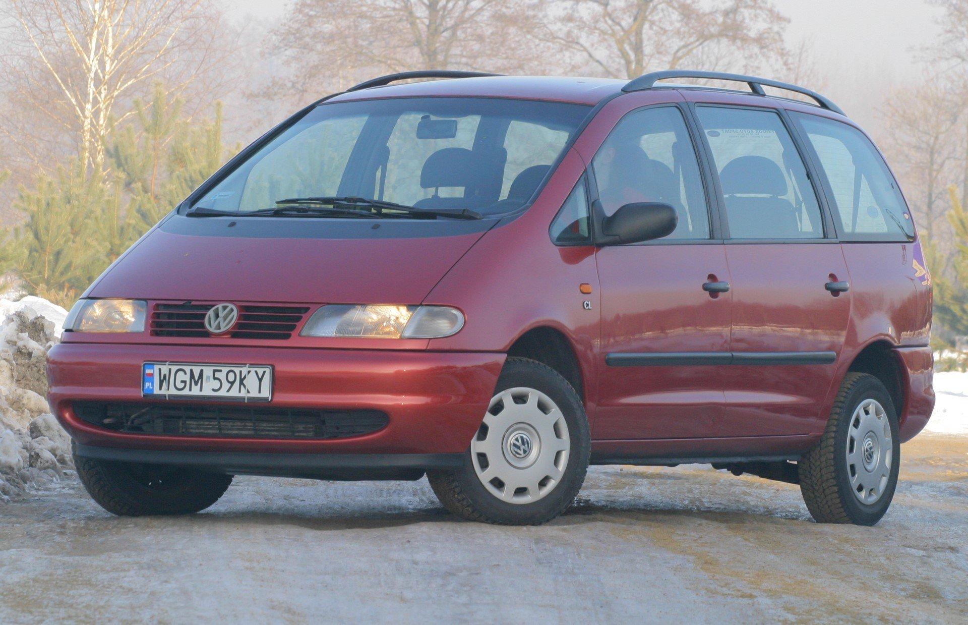 Uzywany Volkswagen Sharan