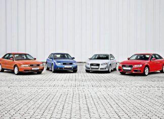 Oznaczenia Audi – modele i generacje