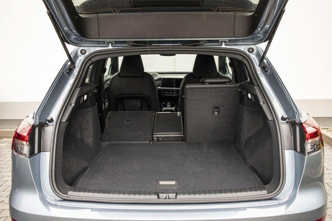 Audi Q4 e-tron test 2021 - bagażnik