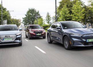 Audi Q4 e-tron, BMW iX3, Ford Mustang Mach-E – PORÓWNANIE